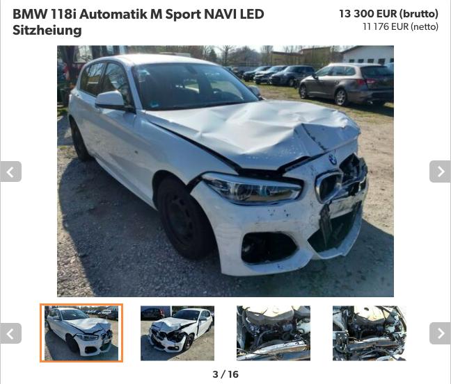 podezřelé ojeté auto na mobile.de 2