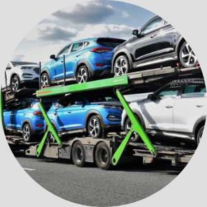 dovoz aut na kamionu covid 19